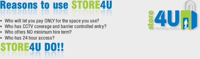 Reasons to use STORE4U
